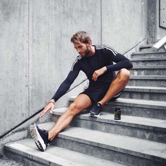 Are you running today ? // running short // urban men // fitness // health…