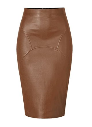 This is how to wear a pencil skirt outside of the office!