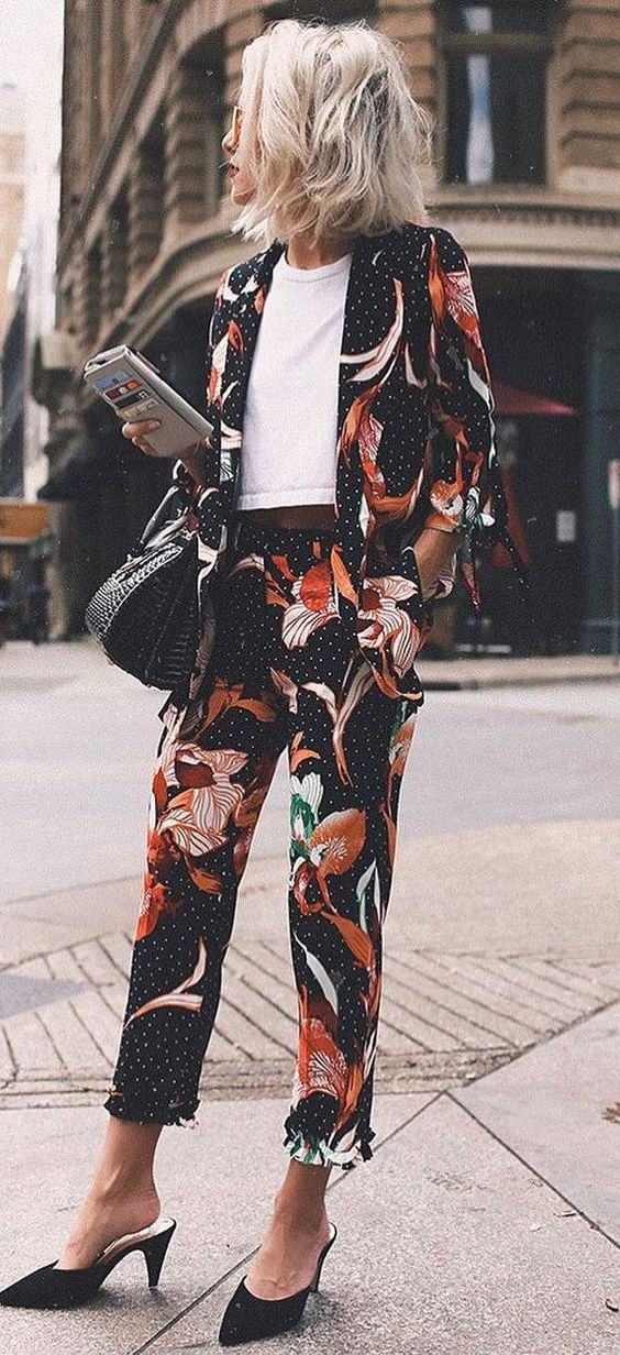 Check out these great floral outfit ideas!