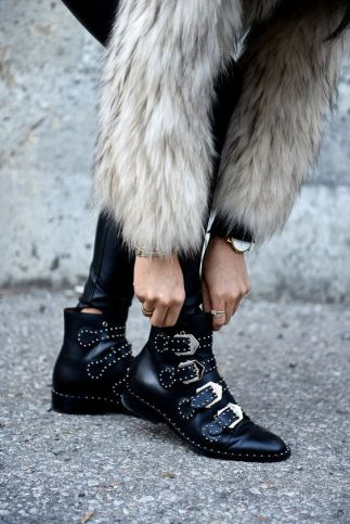 Booties are great to have in your bohemian style wardrobe!