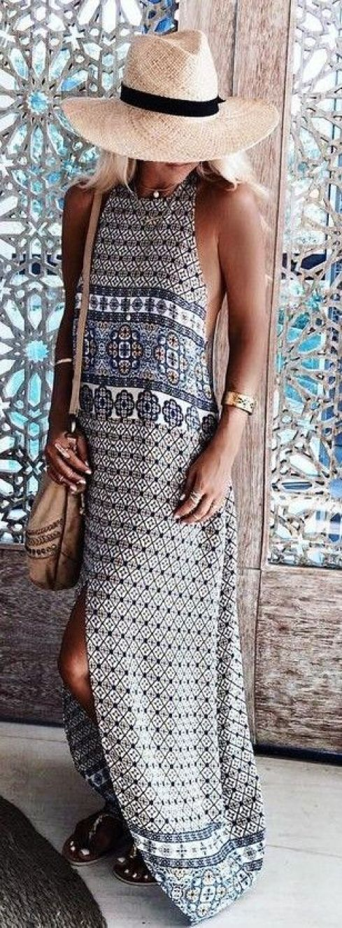 A variety of prints are great to have in your bohemian style wardrobe!