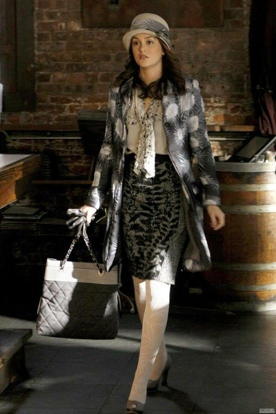 Almost Every Blair Waldorf Winter Outfit in Gossip Girl