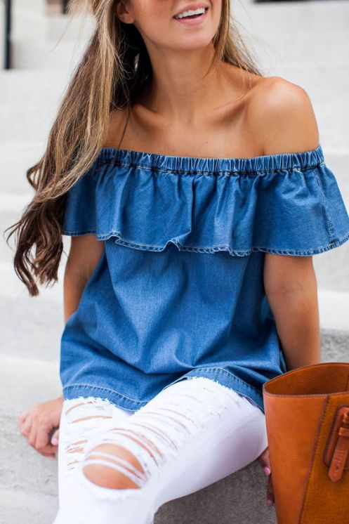 Check out these chic and classic denim outfits!